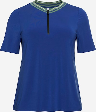 SHEEGO Shirt in royalblau, Produktansicht