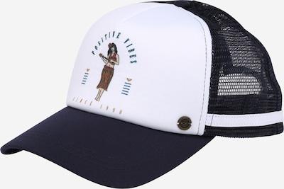 ROXY Casquette 'DIG THIS' en indigo / marron / blanc, Vue avec produit