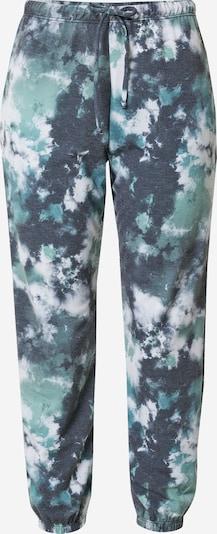 Onzie Pantalon de sport en bleu-gris / jade / blanc, Vue avec produit