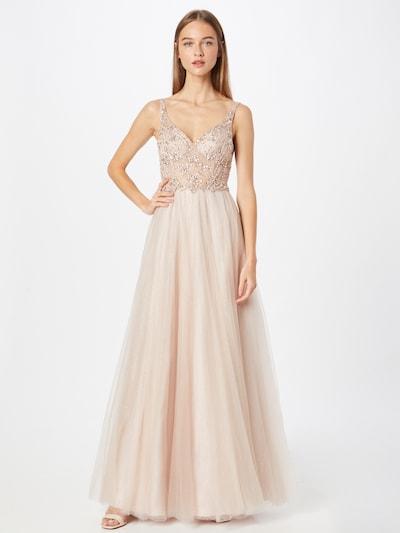 Unique Večerné šaty - krémová, Model/-ka
