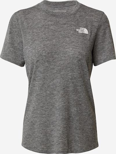 THE NORTH FACE T-shirt fonctionnel en noir chiné, Vue avec produit
