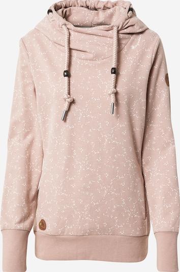 Ragwear Collegepaita 'GRIPY' värissä vanha roosa / valkoinen, Tuotenäkymä