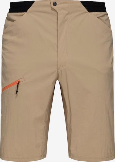 Haglöfs Outdoorhose  'L.I.M Fuse' in sand / orange / schwarz, Produktansicht