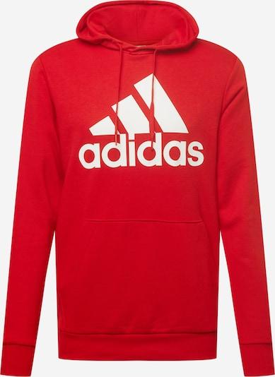 ADIDAS PERFORMANCE Sportsweatshirt in rot / weiß, Produktansicht