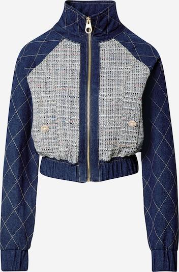 River Island Prijelazna jakna 'Trucker' u tamno plava / miks boja, Pregled proizvoda