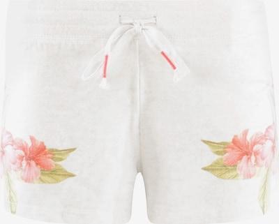 Pantaloni de pijama 'Flowers' PJ Salvage pe oliv / roșu / alb, Vizualizare produs