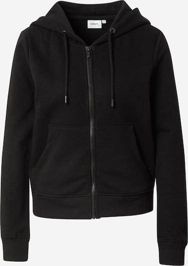 ONLY Sweatjacke 'FEEL' in schwarz, Produktansicht