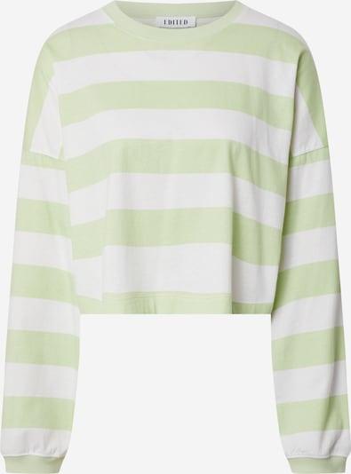 EDITED T-shirt 'Robin' en vert, Vue avec produit