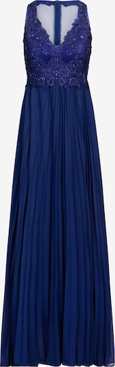 APART Abendkleid aus Mesh, Spitze, Chiffon in blau, Produktansicht