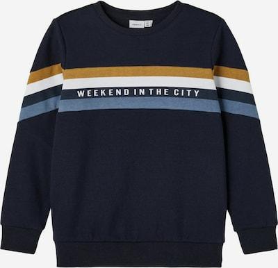 NAME IT Džemperis, krāsa - tumši zils / debeszils / brūns / balts, Preces skats