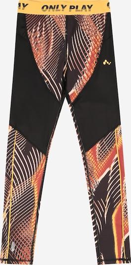 Pantaloni sport 'MARLIN' ONLY PLAY pe galben citron / roz / roșu pastel / negru, Vizualizare produs