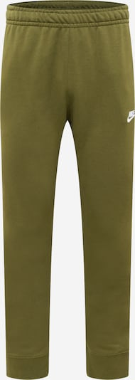 Nike Sportswear Pants in Khaki / White, Item view