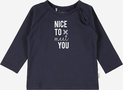 BESS T-Shirt en bleu foncé / gris clair / blanc, Vue avec produit