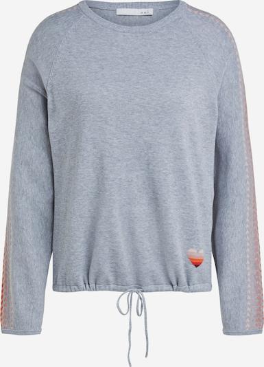 OUI Pullover in graumeliert / mischfarben, Produktansicht