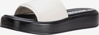 INUOVO Mule en blanc, Vue avec produit