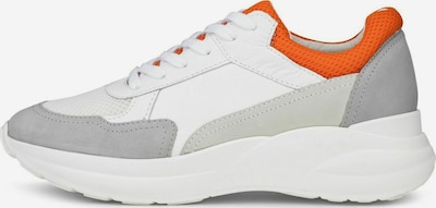 COX Sneaker in grau / orange / weiß, Produktansicht