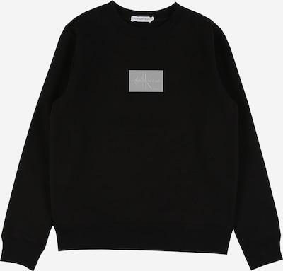Calvin Klein Jeans Sweat en noir / argent, Vue avec produit