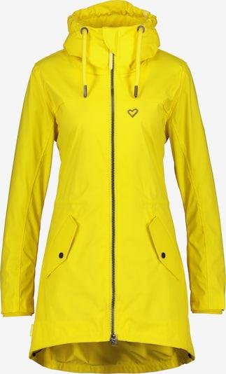 Alife and Kickin Regenjacke in gelb, Produktansicht