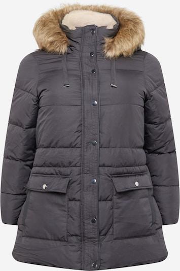 Vero Moda Curve Jacke 'SKYLAR' in hellbraun / dunkelgrau, Produktansicht