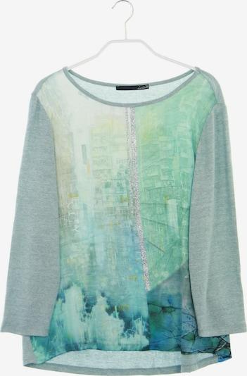 Lecomte Pullover in M in nachtblau / aqua / weiß, Produktansicht