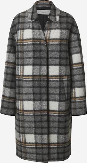 Marc O'Polo DENIM Přechodný kabát - hnědá / tmavě šedá / bílá, Produkt
