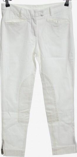 CERRUTI Stoffhose in M in weiß, Produktansicht