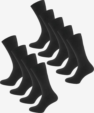 camano Socken 'Chris' in schwarz, Produktansicht