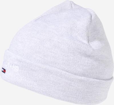Tommy Jeans Bonnet en gris clair, Vue avec produit