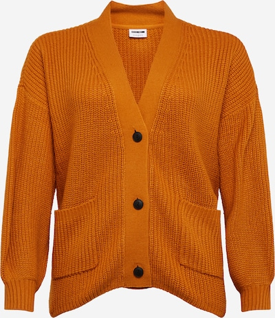 Noisy May Curve Strickjacke 'Tommy' in orange, Produktansicht