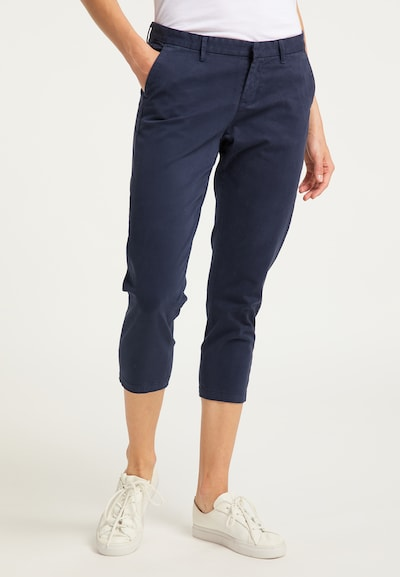 DreiMaster Vintage Hose in marine, Modelansicht