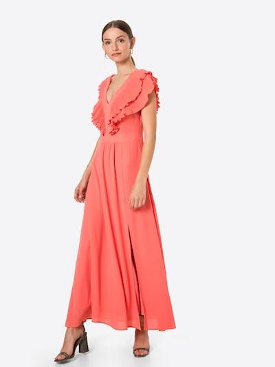 s.Oliver BLACK LABEL Kleid in koralle, Modelansicht