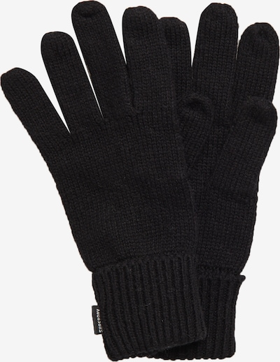 Superdry Vingerhandschoenen in de kleur Zwart, Productweergave