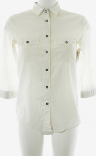 BURBERRY Hemd-Bluse in XS in creme: Frontalansicht