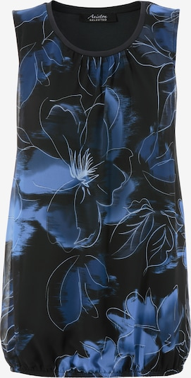 Aniston SELECTED Bluse in navy / schwarz / weiß, Produktansicht