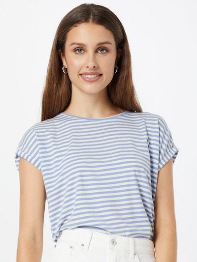 VERO MODA Тениска 'VMAVA' в светлосиньо / бяло: Изглед отпред