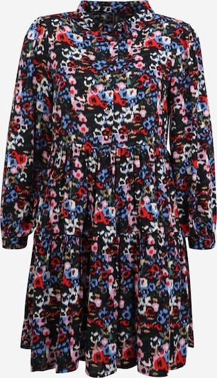 Y.A.S Petite Vestido camisero 'MALI' en azul oscuro / mezcla de colores, Vista del producto