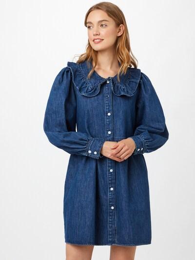 LEVI'S Kleid 'MIRA' in blue denim, Modelansicht