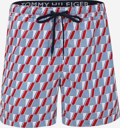 Tommy Hilfiger Underwear Shorts de bain en bleu / rouge / blanc, Vue avec produit