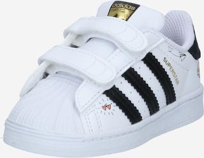 ADIDAS ORIGINALS Sneaker 'Superstar' in gold / rot / schwarz / weiß, Produktansicht