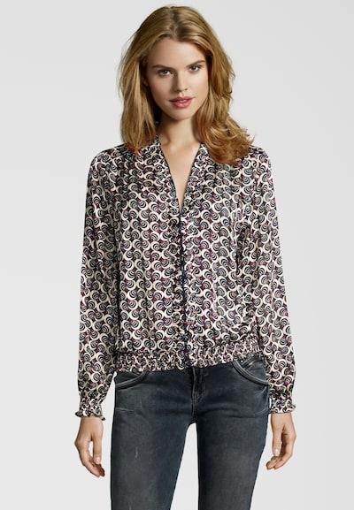 SCOTCH & SODA Bluse mit Rüschen-Kragen in mischfarben, Modelansicht