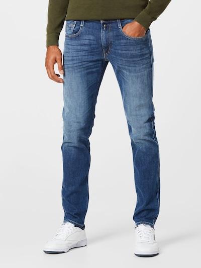 REPLAY Jeans 'ANBASS' in blue denim, Modelansicht