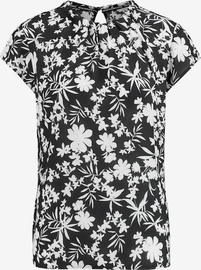 TAIFUN Bluse in schwarz / weiß, Produktansicht