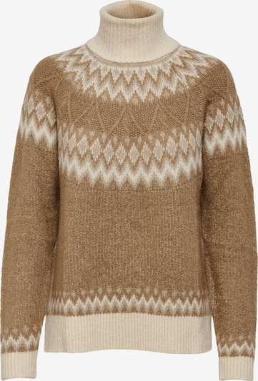 ONLY Sweater 'Marjana' in mottled brown / White, Item view