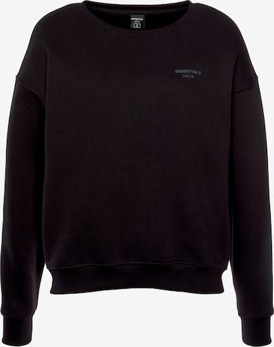 DSCVR Sweatshirt in schwarz / weiß, Produktansicht