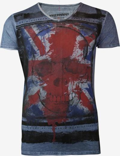 trueprodigy T-Shirt ' Kingdom of Skulls ' in blau, Produktansicht