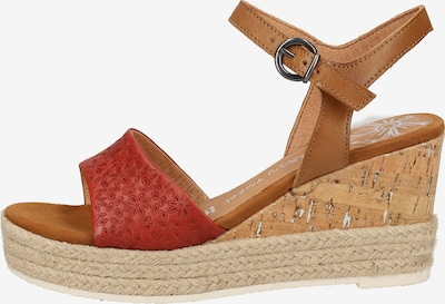 MARCO TOZZI Sandalen in rot, Produktansicht