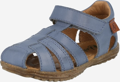 NATURINO Sandale in taubenblau, Produktansicht