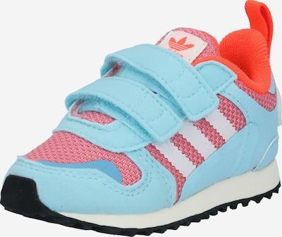 ADIDAS ORIGINALS Sneaker in hellblau / pitaya / orangerot / weiß, Produktansicht