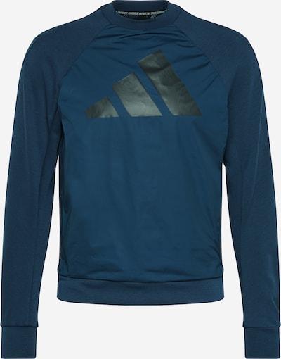 ADIDAS PERFORMANCE Športová mikina - námornícka modrá / čierna, Produkt
