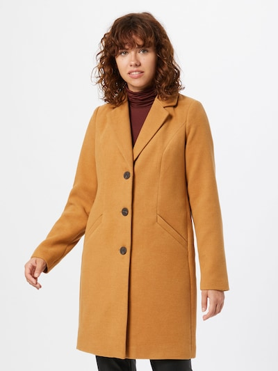 VERO MODA Prijelazni kaput 'Calacindy' u svijetlosmeđa, Prikaz modela